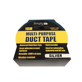 WORKSHOPPLUS Multi Purpose Duct Tape - Silver 10M