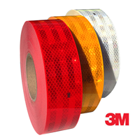 3M Amber ECE104 Conspicuity Tape 50M by Workshop Plus