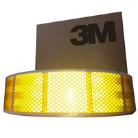 3M Amber ECE104 SEGMENTED TAPE 50M by Workshop Plus