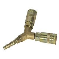 Sealey Air line Twin Coupling Y Adaptor by Workshop Plus