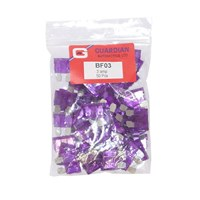 Standard Blade Fuses 3 Amp - 50 Pieces by Workshop Plus