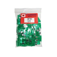 WORKSHOPPLUS Standard Blade Fuses 30 Amp - 50 Pieces