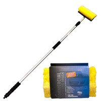 HD Telescopic Wash Brush for vans & trucks 2.5M by Workshop Plus