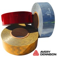 Avery Dennison White Conspicuity Tape 50M Roll
