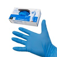 WORKSHOPPLUS Blue Nitrile Gloves Extra Large - 100
