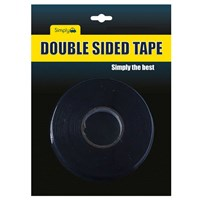 WORKSHOPPLUS Double Sided Tape 5M x 18mm