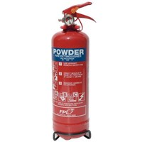 WORKSHOPPLUS Fire Extinguisher 1kg Dry Powder