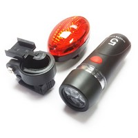 2pc Bike Light Set  3 light settings by Workshop Plus