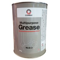 Comma Multi Purpose Lithium Grease 3kg by Workshop Plus