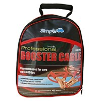 Professional HD 200amp Jump Booster Cables 2.5M by Workshop Plus
