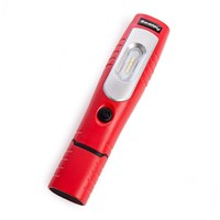 Sealey rechargable LED inspection lamp & torch Red by Workshop Plus