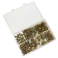 WORKSHOPPLUS Acme Screws Washers 255 Pieces