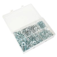 "WORKSHOPPLUS Spring Washers Sizes 3/16"" - 1/2"" 800 Pieces"