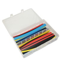 Heat Shrink Tubing Dia 4.8 - 12.7mm 30 Pieces by Workshop Plus
