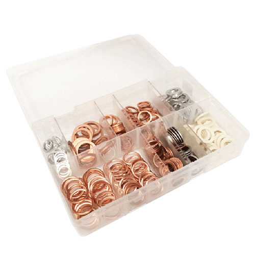 Sump Plug Washers - 250 Pieces by Workshop Plus