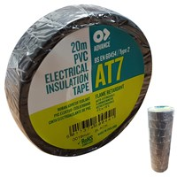 WORKSHOPPLUS Advance PVC Tape 19mm x 20M 10 Pieces