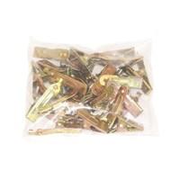 Crocodile Clips 25 Amp - 25 Pieces by Workshop Plus