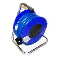 Cable Reel Blue 15 Metre by Workshop Plus