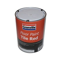 Floor Paint Tile Red 5L by Workshop Plus