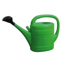 WORKSHOPPLUS Green Watering Can With Rose 10L