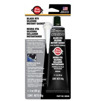 WORKSHOPPLUS RTV Silicone Sealant Black 85gm