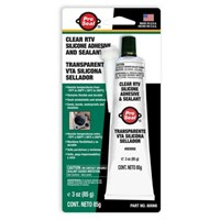WORKSHOPPLUS RTV Silicone Sealant Clear 85gm