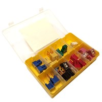 Assorted Male & Female Pal Fuses - 25 Pieces by Workshop Plus