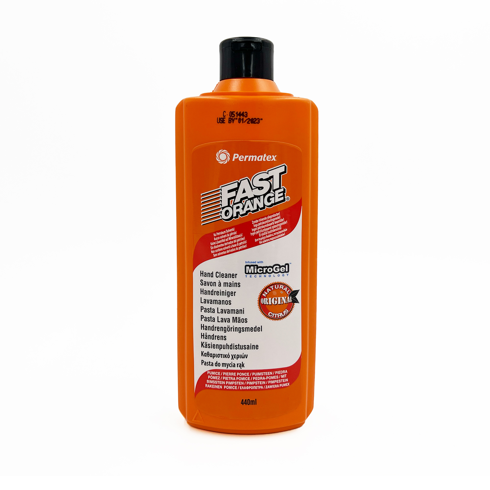 Fast Orange Hand Cleaner 440 ml by Workshop Plus